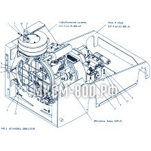 МКСМ-800 Установка двигателя