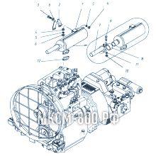 МКСМ-800 Установка глушителя