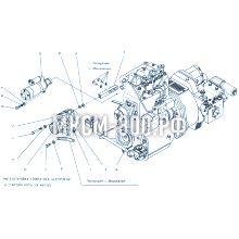 МКСМ-800 Установка генератора и стартера