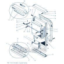 МКСМ-800 Установка радиаторов