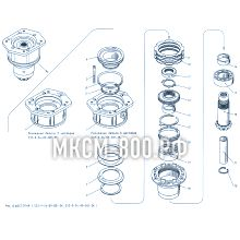 МКСМ-800 Шестерня