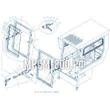 МКСМ-800 Стеклоочиститель и дверь