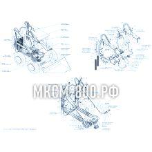 МКСМ-800 Установка гидравлической системы рабочего оборудования