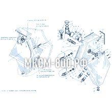 МКСМ-800 Установка бака гидравлической системы