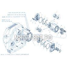 МКСМ-800 Установка насоса рабочего оборудования