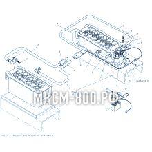 МКСМ-800 Установка АКБ и контактора массы