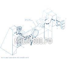 МКСМ-800 Установка задних фонарей, фары и звукового сигнала