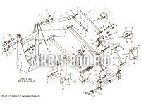 Установка тяг, рычагов и пальцев МКСМ-800