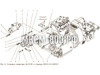 Установка генератора МКСМ-800