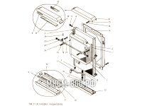 Установка радиаторов МКСМ-800
