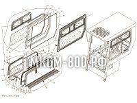 Окно правое МКСМ-800