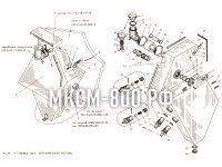 Установка бака гидравлической системы МКСМ-800