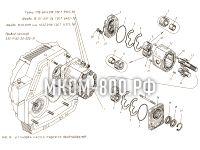 Установка насоса рабочего оборудования МКСМ-800