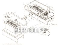 Установка АКБ и контактора массы МКСМ-800