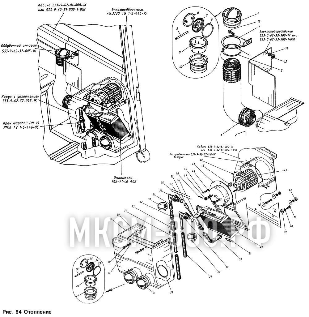 МКСМ-800 - Отопление