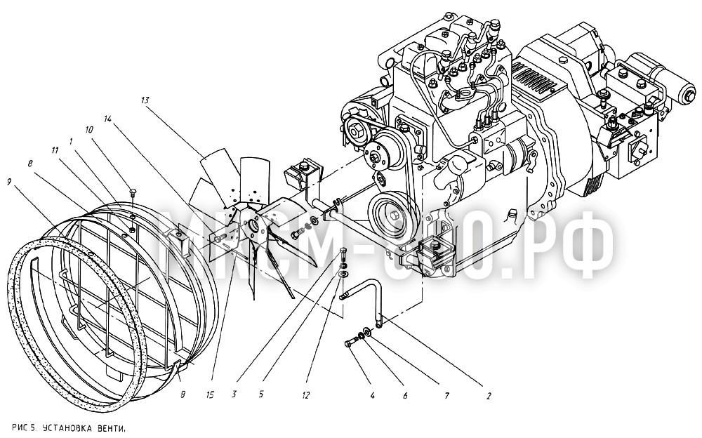 МКСМ-800 - Установка вентилятора