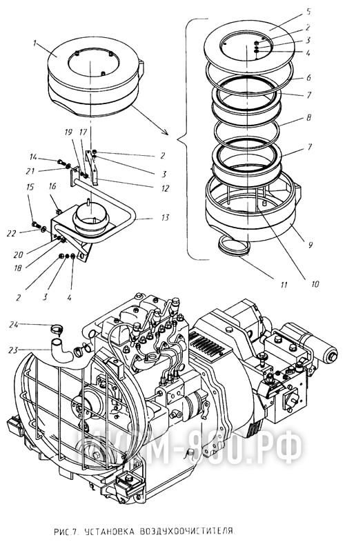 МКСМ-800 - Установка воздухоочистителя