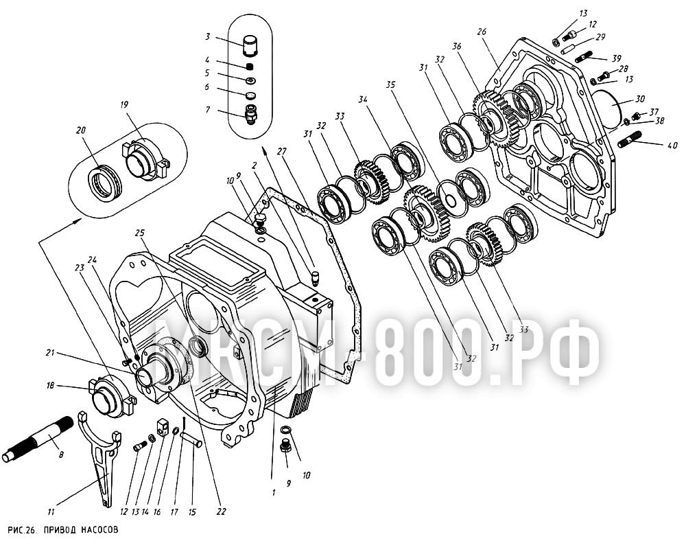 МКСМ-800 - Привод насосов