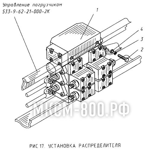 МКСМ-800 - Установка распределителя