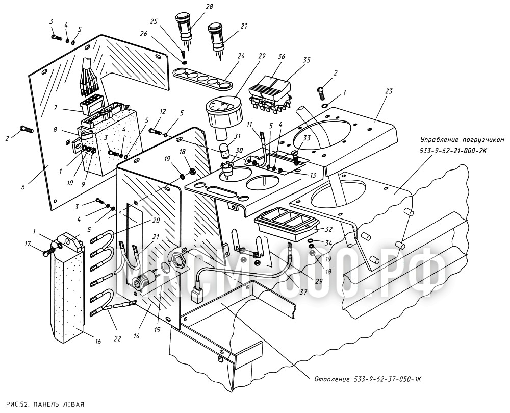 МКСМ-800 - Панель левая