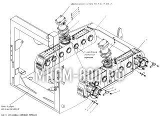 Установка коробок передач МКСМ-800