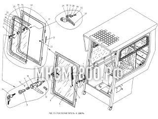 Стеклоочиститель и дверь МКСМ-800