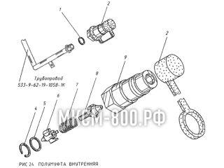 Полумуфта внутренняя МКСМ-800